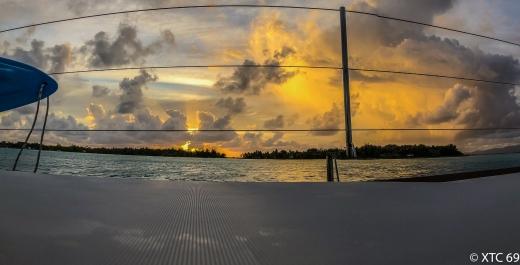 Französisch Polynesien segeln-