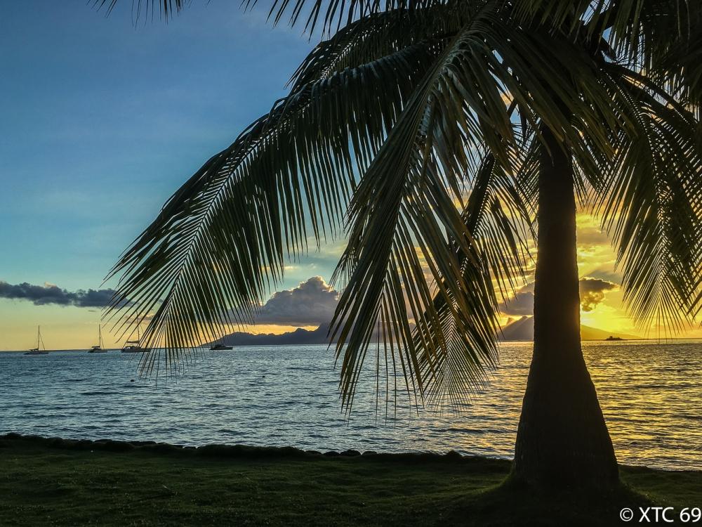 Sonnenuntergang Papeete-1838