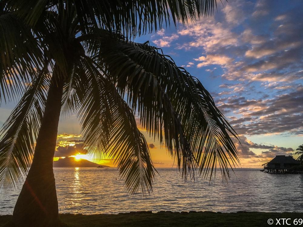 Sonnenuntergang Papeete-1869